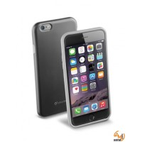 Силиконов подсилен калъф кейс Cellular line Shocking калъф за iPhone 6/6S 4,7 черен