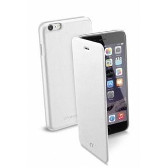 Book Essential калъф iPhone 6/6S Plus 5,5 бял Cellular line