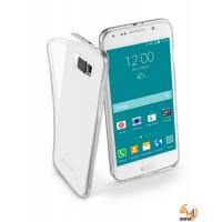 Fine прозрачен гумен калъф за Samsung Galaxy S6 Cellular line
