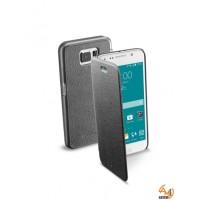 Book Essential за Samsung Galaxy S6 черен Cellular line