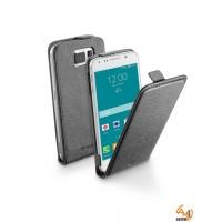 Flap Essential калъф за Samsung Galaxy S6 черен Cellular line