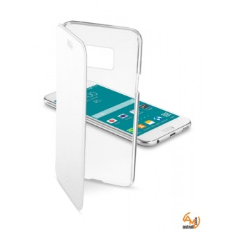ClearBook калъф за Samsung Galaxy S6 бял Cellular line