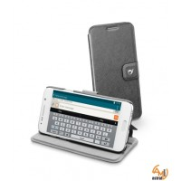 Vision Slim калъф за Sams Galaxy S6 черен Cellular line