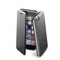 Калъф тип тефтер Cellular line Book Slim за iPhone 6/6S черен
