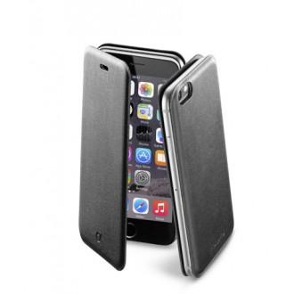 Book Slim калъф iPhone 6/6S 4,7 черен Cellular line