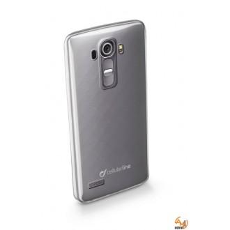 Fine прозрачен тънък гумен калъф LG G4 Cellular Line