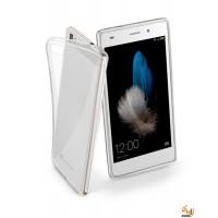 Калъф Fine за Huawei P8 lite прозрачен Cellular Line