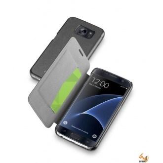 Book Essential за Samsung Galaxy S7 черен Cellular Line