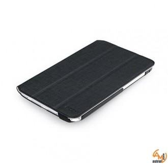 Кожен калъф с поставка за Samsung Galaxy Note 8.0 Rock черен
