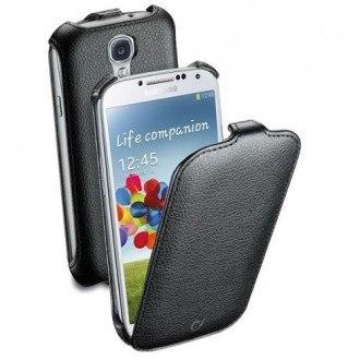 Flap калъф за Samsung Galaxy S4 черен Cellular line
