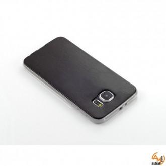 Силиконов калъф за Samsung Galaxy S6 черен