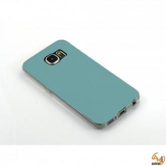 Силиконов калъф за Samsung Galaxy S6 Edge син
