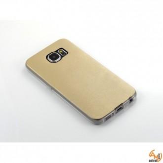 Силиконов калъф за Samsung Galaxy S6 златен