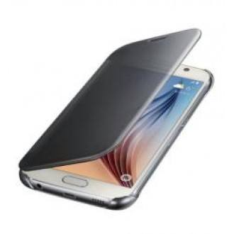 Samsung Clear View Cover  EF-ZG920BSE for Galaxy S6 Сив