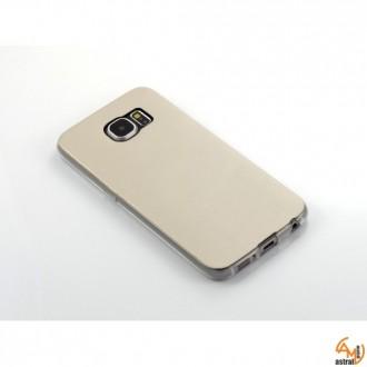Силиконов калъф за Samsung Galaxy S6 бял