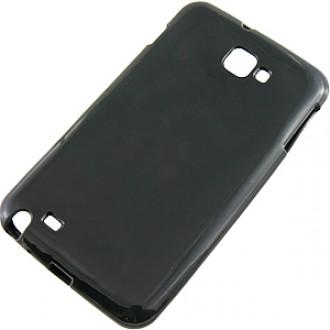 Калъф за Samsung Galaxy Note i9220 силиконов черен