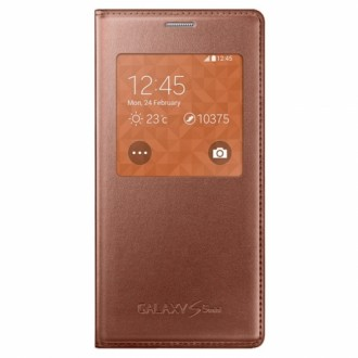 Samsung Cover S-View EF-CG800BF for Galaxy S5 Mini rose gold