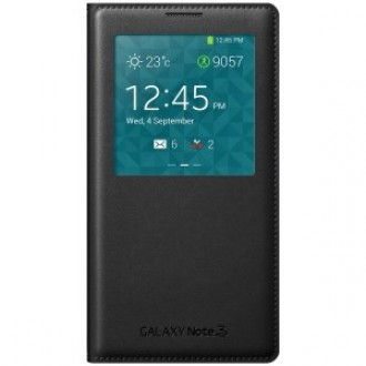 Samsung Cover S-View EF-CN900BB for Galaxy Note 3 черен