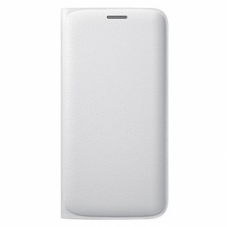 Samsung Flip Case EF-WG925PW for Galaxy S6 Edge white