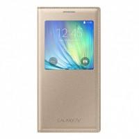 Оригинален калъф за Samsung Galaxy A7 EF-CA700BF Gold