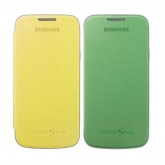 Samsung Flip Cover 2pcs Set EF-FI919BZ for Galaxy S4 Mini зелен/