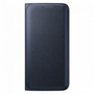 Samsung Flip Case EF-WG925PB for Galaxy S6 Edge blue black