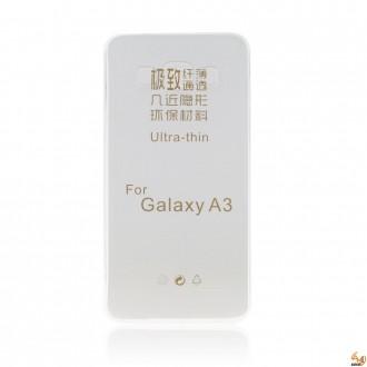 Силиконов калъф за Samsung Galaxy A3 0.3мм прозрачен