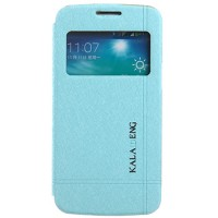 Страничен тефтер ICELAND за Samsung Galaxy S5/S5 Neo син