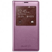 Samsung Cover S-View EF-CG900BP for Galaxy S5 pink  розов.