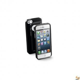 Shocking калъф за iPhone 5S/5 черен/бял Cellular line