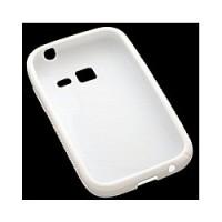 Силиконов калъф за Samsung S6802 Galaxy Ace Duos бял