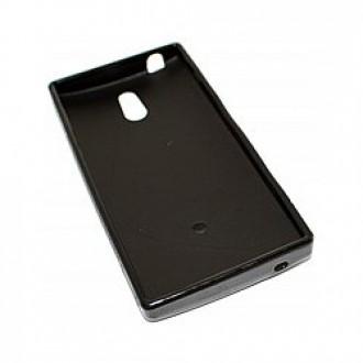 Силиконов калъф за Sony Xperia P черен