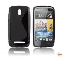 Силиконов калъф за HTC Desire 500 черен