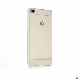 Метален бъмпер с гръб за Samsung Galaxy A5 Silver