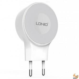 Зарядно устройство 220V 2.1A A2269 LDNIO с USB кабел