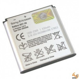Оригинална батерия за Sony Ericsson BST-38