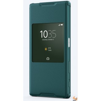 Sony Style Cover SCR30 for Xperia Z3+/Z4 aqua green