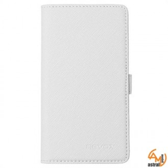 Nevox Folio Case Ordo for Xperia Z1 Compact white/grey