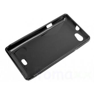 Силиконов калъф за Sony Xperia Miro ST23 черен