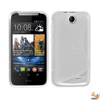 Силиконов калъф за HTC Desire 310 прозрачен