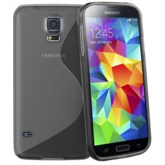 Силиконов калъф за Samsung Galaxy S5  G900 черен