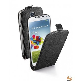 Flap Essential за Samsung Galaxy S4 черен Cellular line