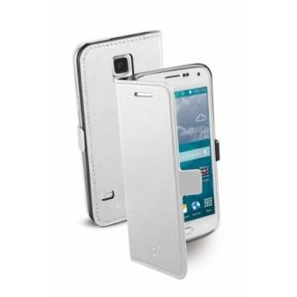 Book Essential Samsung Galaxy S5 mini бял Cellular line