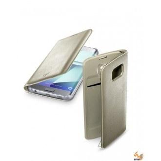 Samsung Galaxy S7 Edge Backbook калъф златен