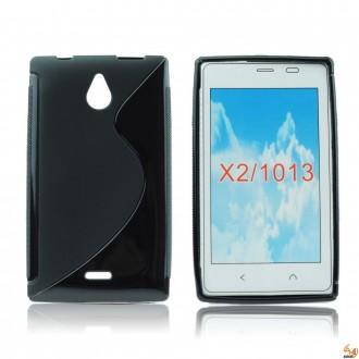 Силиконов калъф за Nokia X2 черен