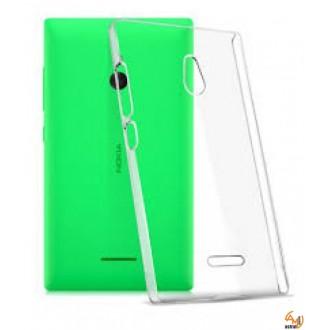 Силиконов калъф за Nokia XL 0.3мм прозрачен
