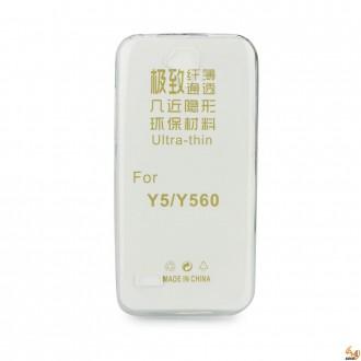 Силиконов калъф за Huawei Y5 (Y560) 0.3мм прозрачен