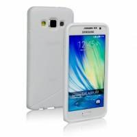 Силиконов калъф за Samsung Galaxy A5 бял