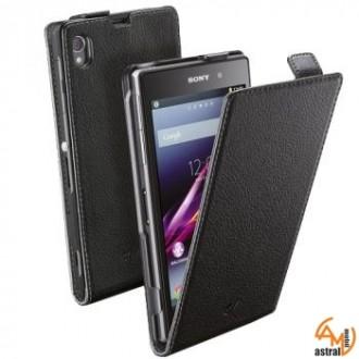 Flap Essential за Sony Xperia Z1 черен Cellular line