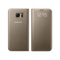 Samsung Galaxy S7 Led View Cover Gold